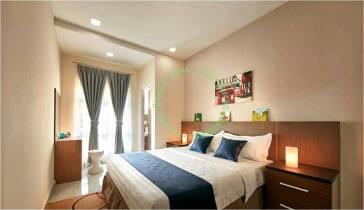 rumah teres dua tingkat darul aman utama, kuala ketil, kedah untuk dijual_3d image_bilik tidur 3