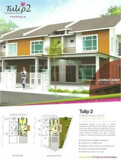 rumah teres dua tingkat darul aman utama, kuala ketil, kedah untuk dijual_brochure