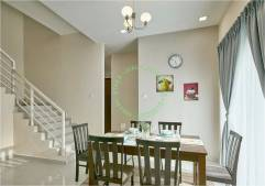 rumah teres dua tingkat darul aman utama, kuala ketil, kedah untuk dijual_ruang makan