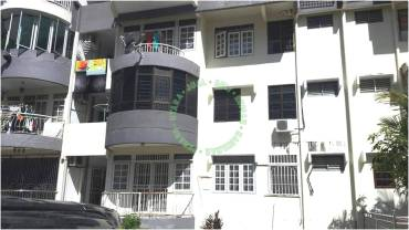 Apartment Mutiara Perdana Bayan Lepas-dari balkoni luar
