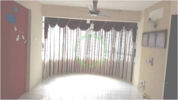 View Cantik Ruang Tamu Apartment Mutiara Perdana Bayan Lepas