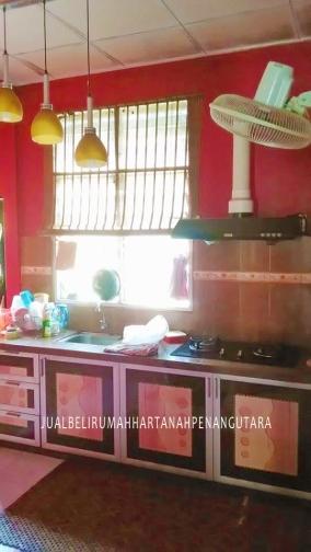 rumah teres setingkat bertam putra untuk dijual_dapur