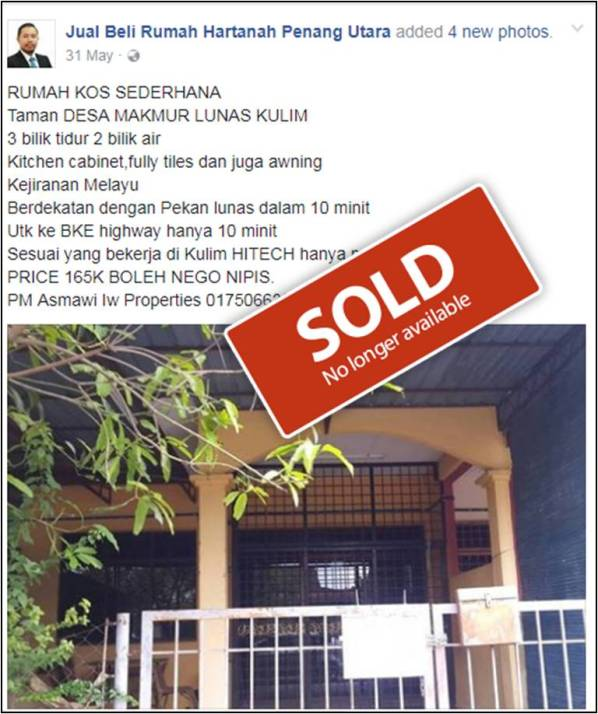 taman desa makmur_sold out