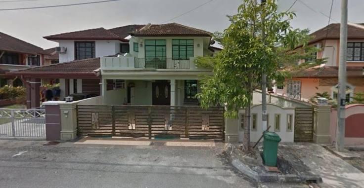 rumah, berkembar, semi-d, semi D, 2 tingkat, dua tingkat, untuk dijual, penang, pulau pinang, nibong tebal