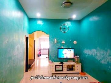 rumah teres aman jaya untuk dijual-ruang menonton