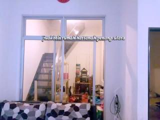 rumah teres aman jaya untuk dijual-tangga