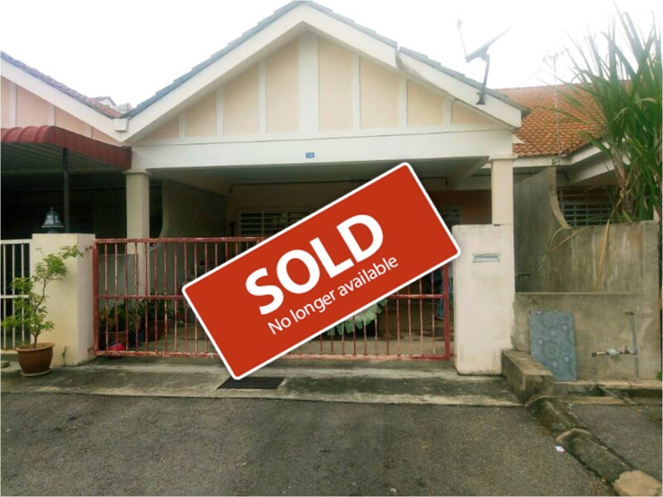 rumah teres satu tingkat untuk dijual bandar peteri jaya hill park_sold