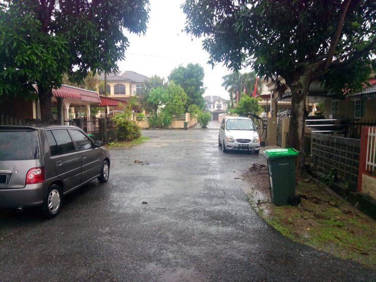 Rumah Teres Satu Tingat Taman Seri Tanjong Alor Setar Untuk Dijual - Akses Dalam Taman