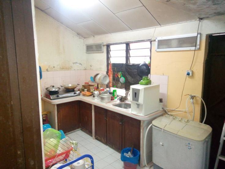 Rumah Teres Satu Tingat Taman Seri Tanjong Alor Setar Untuk Dijual - Dapur Lagi
