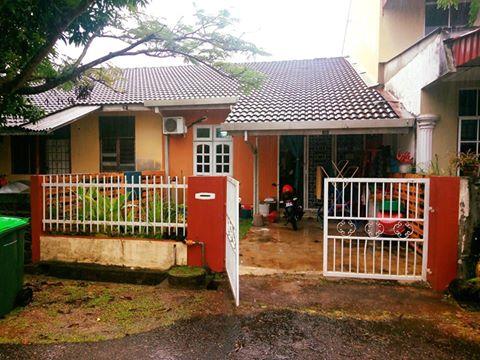 Rumah Teres Satu Tingat Taman Seri Tanjong Alor Setar Untuk Dijual - Pandangan Luar Rumah