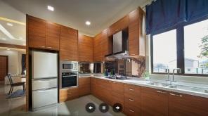 undercons teres dua tingkat darulaman perdana untuk dijual_kitchen