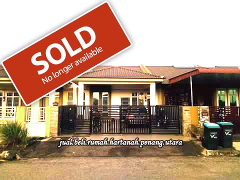 rumah, teres, satu, setingkat, tingkat, untuk, dijual, jual, taman, aman, jaya, sungai, petani, kedah, already, sold, telah, terjual