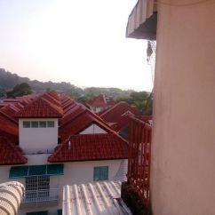 flat desa wangsa bayan lepas penang untuk dijual_pemandangan dari tingkap