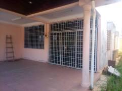 Rumah Semi D Taman Bemban Baling Kedah Untuk Dijual_car porch