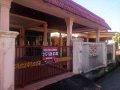 Rumah Semi D Taman Bemban Baling Kedah Untuk Dijual_hadapan rumah